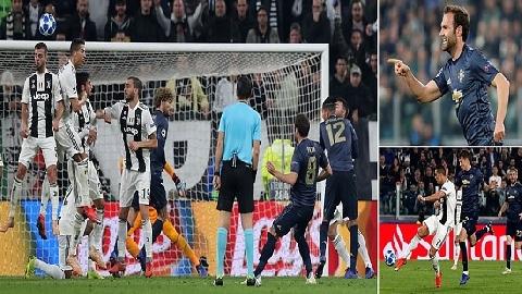 Juventus 1 - 2 M.U (Lượt 4 bảng H Champions League)