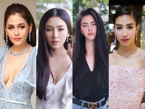 Top mỹ nhân lai đình đám nhất Thái Lan