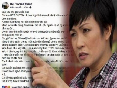 Bị bạn thân tố cặp trai kiếm tiền, ca sĩ Phương Thanh ''nổi giận''