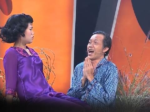 Chết cười xem Lâm Vỹ Dạ quậy tưng bừng khi làm vợ Hoài Linh