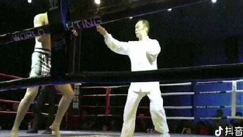 Cao thủ Võ Đang bị võ sỹ MMA đấm gục sau 8 giây