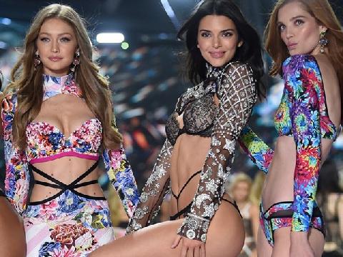 Ngắm trọn màn catwalk nóng bỏng của 3 chân dài đình đám Victoria's Secret 2018