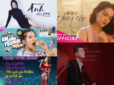 Top Album Việt hot nhất nửa đầu tháng 11
