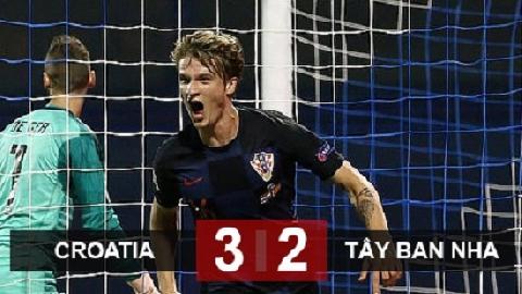 Croatia 3-2 Tây Ban Nha (UEFA Nations League)
