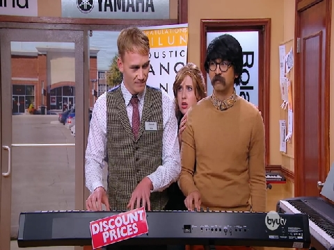 Cây piano bị ma ám