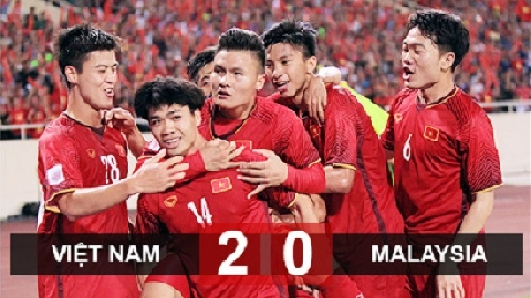 Việt Nam 2-0 Malaysia (bảng A AFF Cup 2018)