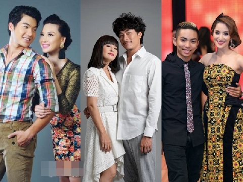 Những mối tình 'chị - em' đầy sóng gió của sao Việt