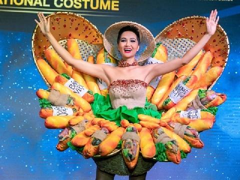 H'hen Niê quyết mặc ''bánh mì'' đi thi Hoa hậu Hoàn Vũ gây tranh cãi