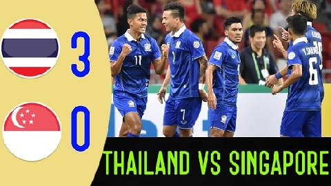 Thái Lan 3-0 Singapore (AFF Suzuki Cup 2018)