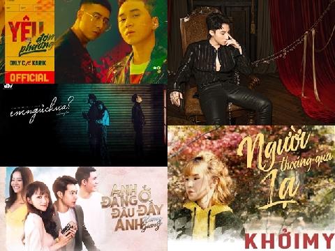 Top siêu phẩm âm nhạc đình đám nhất tháng 11