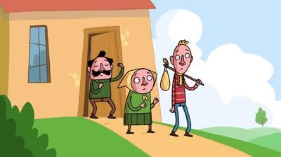 Hoạt hình vui nhộn: 'Ăn bám' bố mẹ!