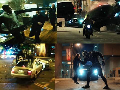 Cảnh hành động hài 16+ được xem nhiều nhất của 'Venom'