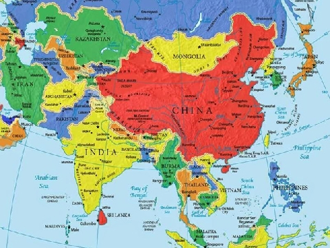 Bạn biết bao nhiêu về địa lý Châu Á?