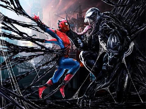 Spider-man VS Venom: Hai con người hai chiến tuyến