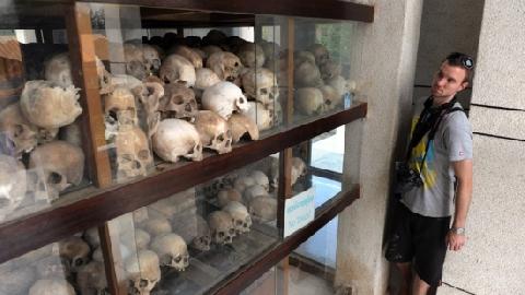 Rợn người khi tới bảo tàng diệt chủng ở Toul Sleng Campuchia