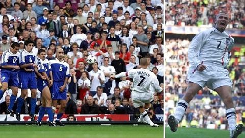 35 bàn thắng huyền thoại trong lịch sử bóng đá (P2)