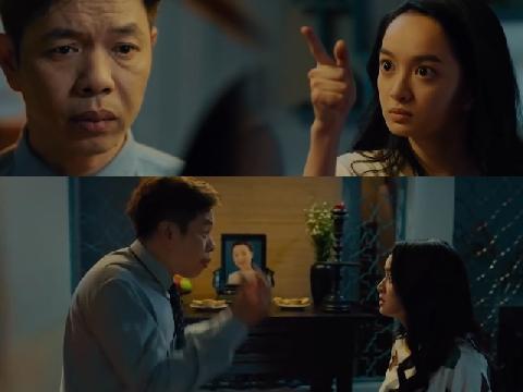 Thái Hòa 'đứng hình' khi bị Kaity Nguyễn chỉ thẳng tay vào mặt