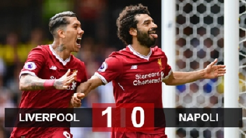 Liverpool 1 - 0 Napoli (Vòng bảng Champions League 2018/19)