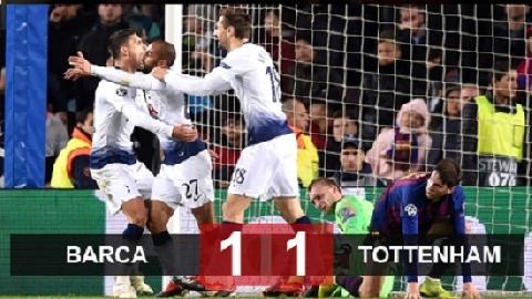 Barcelona 1-1 Tottenham (Vòng bảng Champions League 2018/19)
