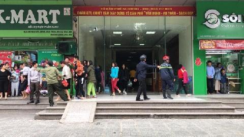 Người đàn ông tự thiêu trên tầng 31, chung cư HH3B Linh Đàm hỗn loạn