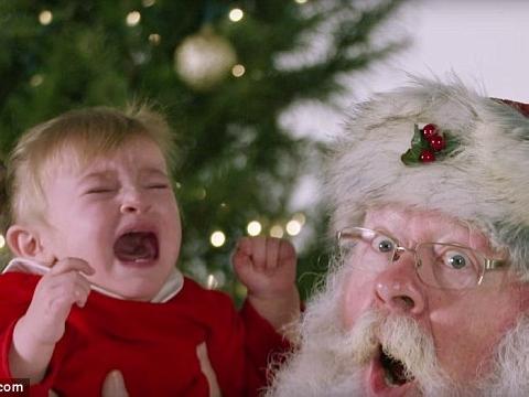 Khi tụi nhóc thấy ông già Noel không thú vị như bố mẹ vẫn nghĩ