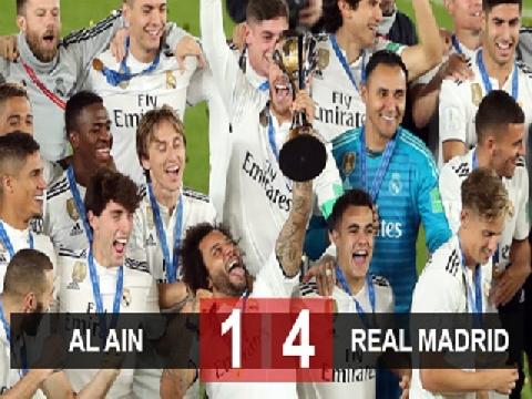 Real Madrid 4-1 Al Ain (Chung kết FIFA Club World Cup 2018)