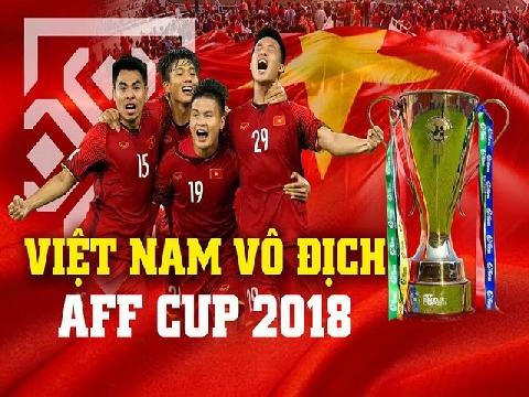 Xúc động với bài hát tri ân chiến công vô địch AFF Cup 2018 của tuyển Việt Nam