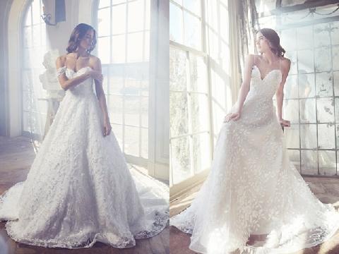 Ngắm trọn những đường cong dịu dàng trong BST váy cưới Sareh Nouri 2019