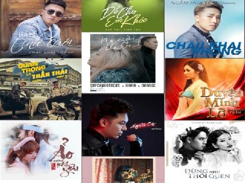 10 Album khủng long càn quét làng nhạc Việt 2018