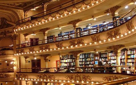 Bên trong hiệu sách đẹp nhất thế giới tại Argentina