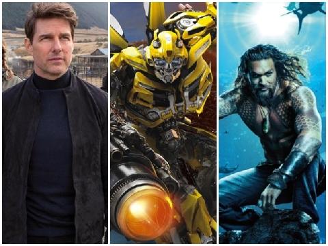 Tổng kết thành công rực rỡ của điện ảnh năm 2018
