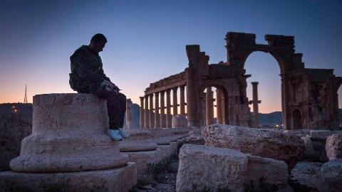 Cận cảnh lăng mộ dài hàng km ở thành cổ Syria