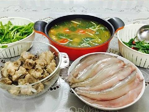 Lẩu cá khoai - món ngon độc đáo ở Đồng Hới