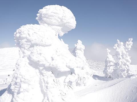 Những ''quái vật tuyết'' trong mùa đông ở Nhật