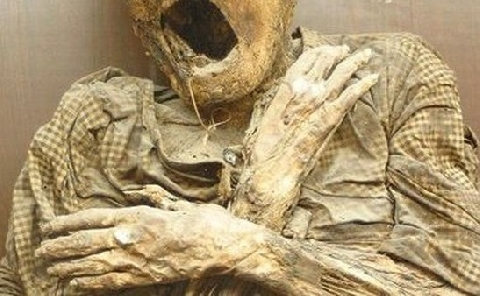 Hầm mộ dành riêng cho tu sĩ ở Ý đầy đáng sợ
