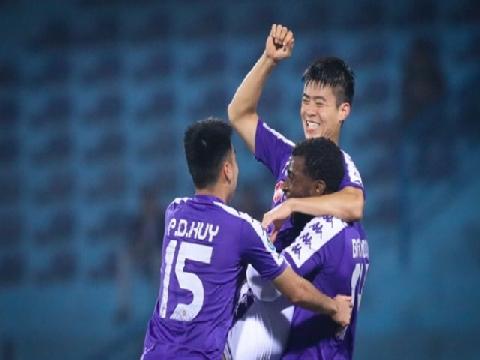 2 siêu phẩm của Hà Nội FC lọt top 5 bàn đẹp nhất AFC Cup