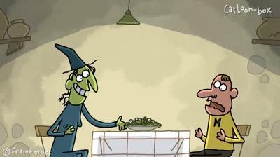 Hoạt hình: Hẹn hò với mụ phù thủy