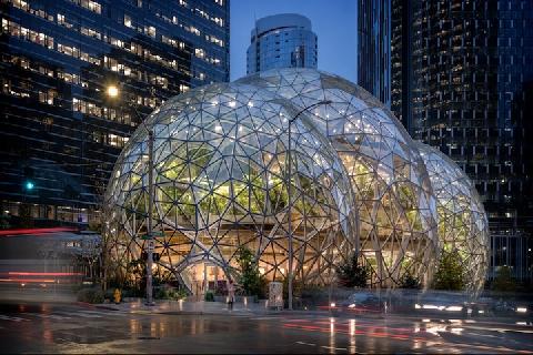 Tòa nhà làm việc với 40.000 cây xanh của người giàu nhất thế