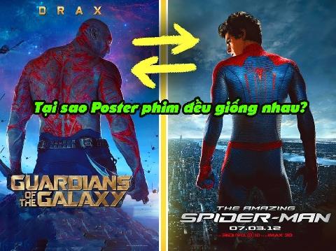 Tại sao tất cả poster phim đều 'giống' nhau?