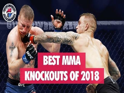 Top những cú knock-out MMA 'đỉnh' nhất 2018 (P1)