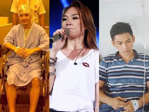 Sao Vpop lao đao vì bạo bệnh: Người bị tai biến, người mất đi giọng hát