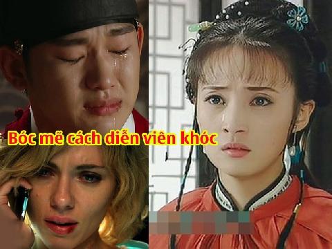 Cách để diễn viên khóc như ý muốn trên phim trường