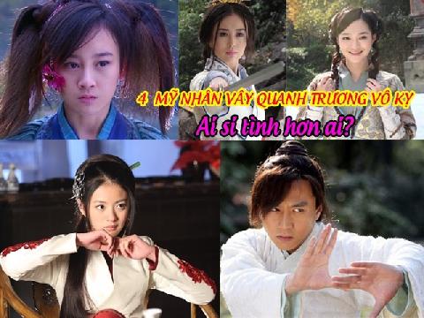 4 mỹ nhân vây quanh Trương Vô Kỵ ai si tình hơn ai?