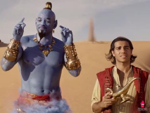 Tuổi thơ ùa về khi bản hit 'A Whole New World' vang lên trong 'Aladdin'