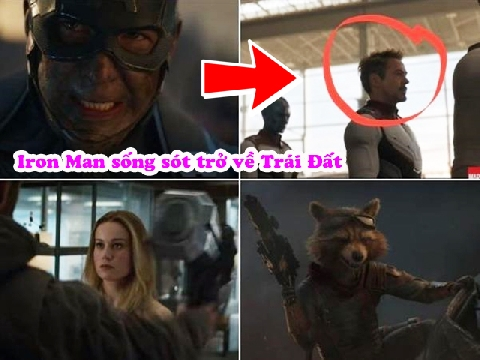 Tin vui: Iron Man sống sót trở về Trái Đất hội ngộ các siêu anh hùng