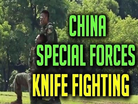 Đặc nhiệm Trung Quốc trình diễn đấu dao cực chất!