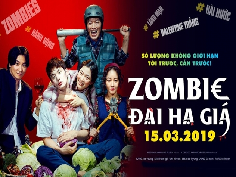 'Zombie Đại Hạ Giá': Phim thây ma mà nhây lầy không ai bằng