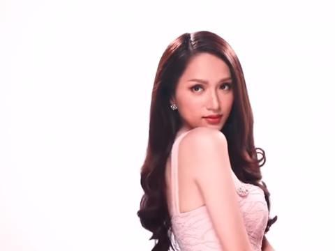 Hoa hậu Hương Giang khoe sắc vóc nuột nà trong clip quảng cáo tại Thái