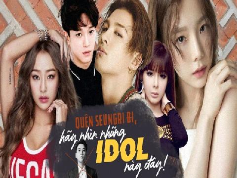 Đừng vì Seungri mà phê phán cả Kpop, hãy nhìn những idol cực phẩm này đi!