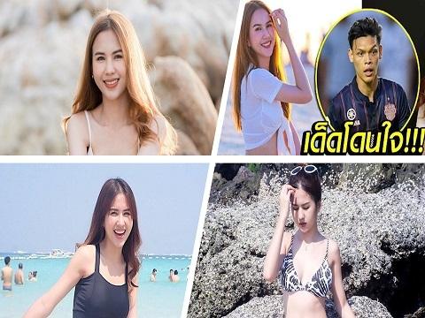 Mỹ nhân sexy 'tiếp lửa' sao Thái Lan đối đầu U23 Việt Nam